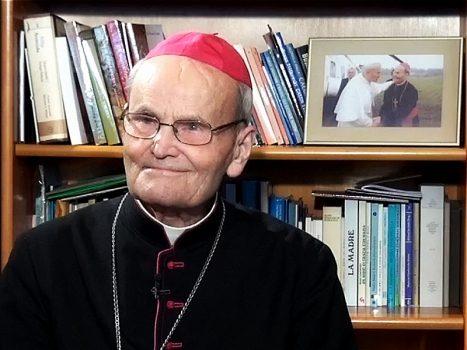Arcybiskup Senior Archidiecezji Lubelskiej Bolesław Pylak. (fot. Archidiecezja Lubelska)
