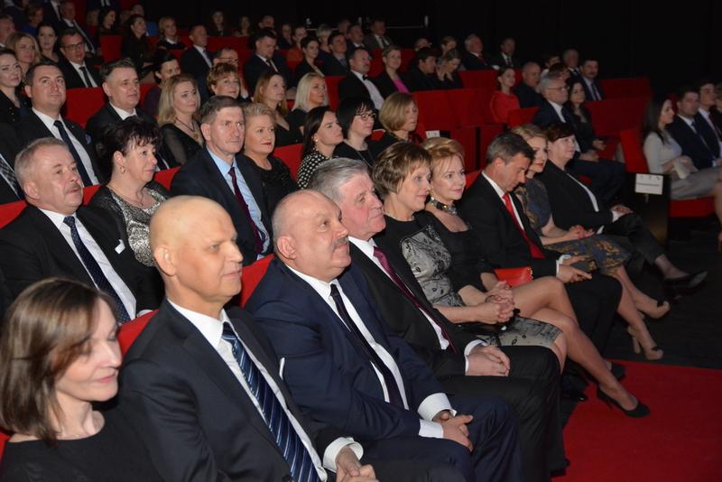 Członkowie Zarządu na widowni
