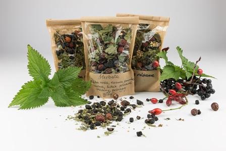 Herbatka różana z ziołami z Wandalina