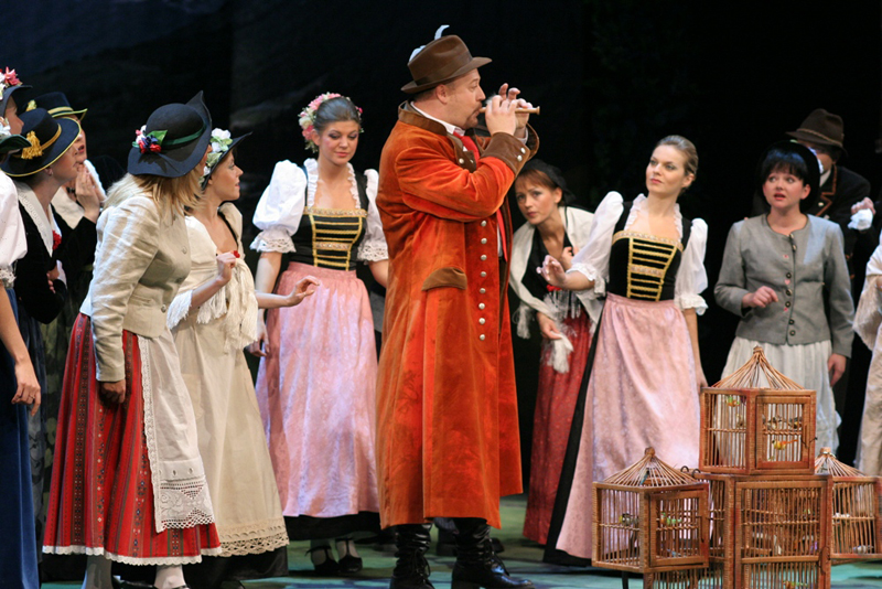 Teatr Muzyczny - Ptasznik z Tyrolu