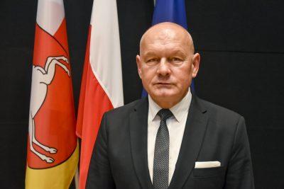 Zdjęcie-portret Radnego Sejmiku Województwa Lubelskiego Krzysztofa Gałana
