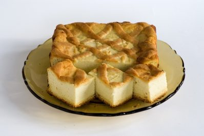 sernik z kartoflami z Jaszczowa