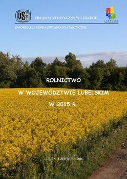 Okładka publikacji Urzędu Statystycznego w Lublinie.