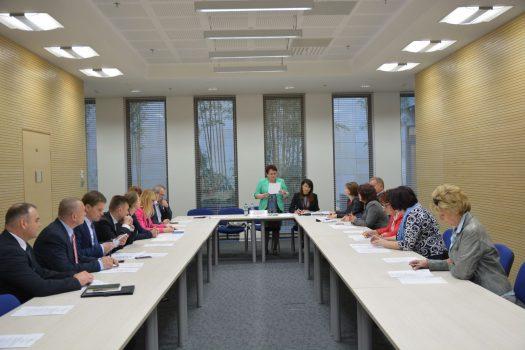 Posiedzenie Prezydium Wojewódzkiej Rady Dialogu Społecznego, która obraduje przy Urzędzie Marszałkowskim.