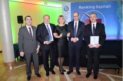 Laureaci rankingu podczas gali podsumowującej, która odbyła się 17 grudnia w hotelu Radisson Blu Sobieski w Warszawie. Fot. WSS w BP.