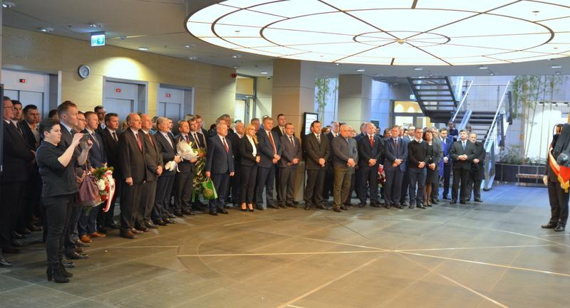 W uroczystości wzięła udział rodzina, współpracownicy oraz samorządowcy z całego regionu