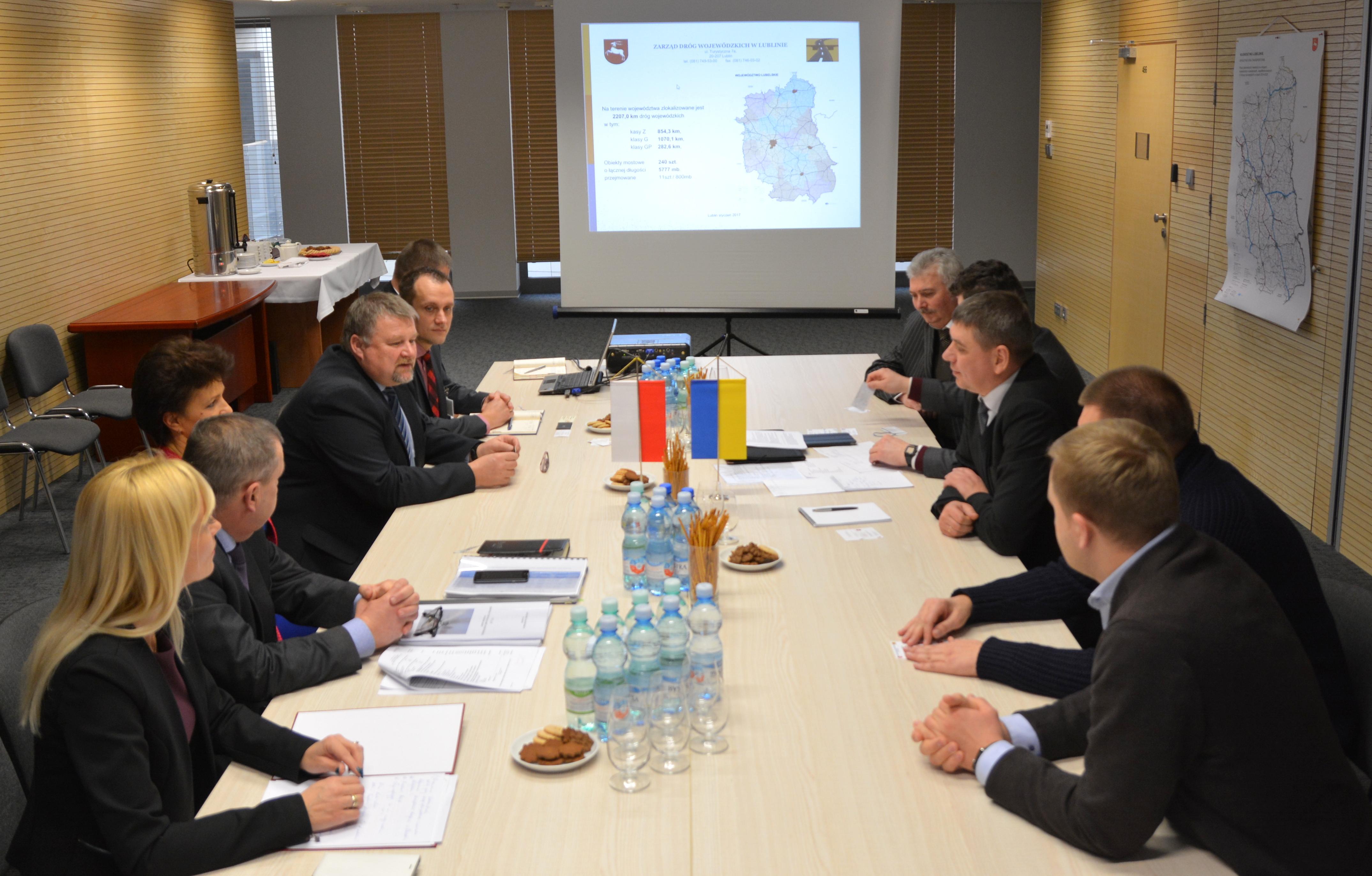 Delegacja z Obwodu Wołyńskiego z wizytą w UMWL