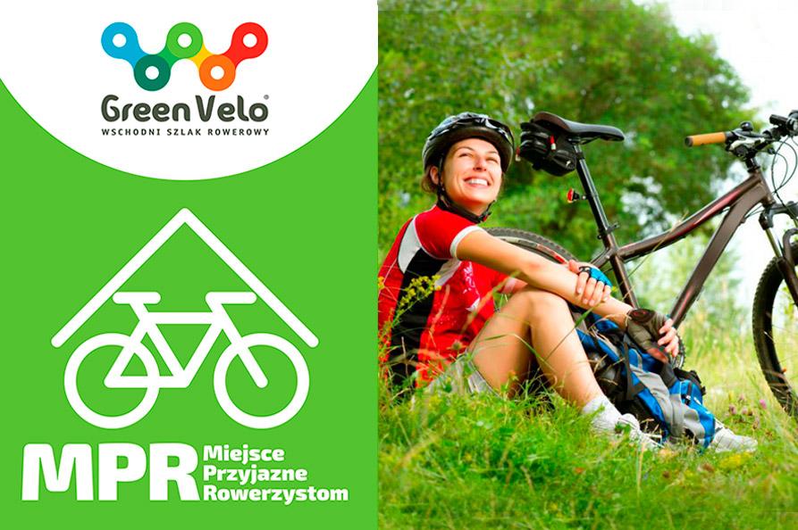 Miejsca Przyjazne rowerzystom na szlaku GREEN VELO