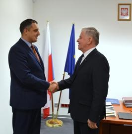 Marszałek Województwa Lubelskiego i Przewodniczący Lwowskiej Rady Obwodowej spotkali się w Lublinie