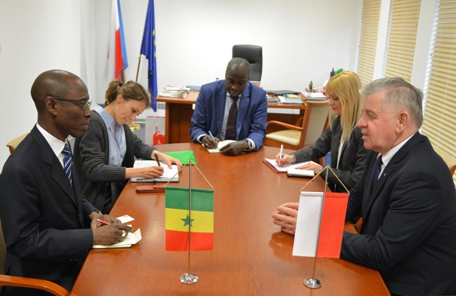 Spotkanie Marszałka z Ambasadorem Senegalu