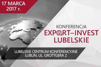 Konferencja Export-Invest Lubelskie