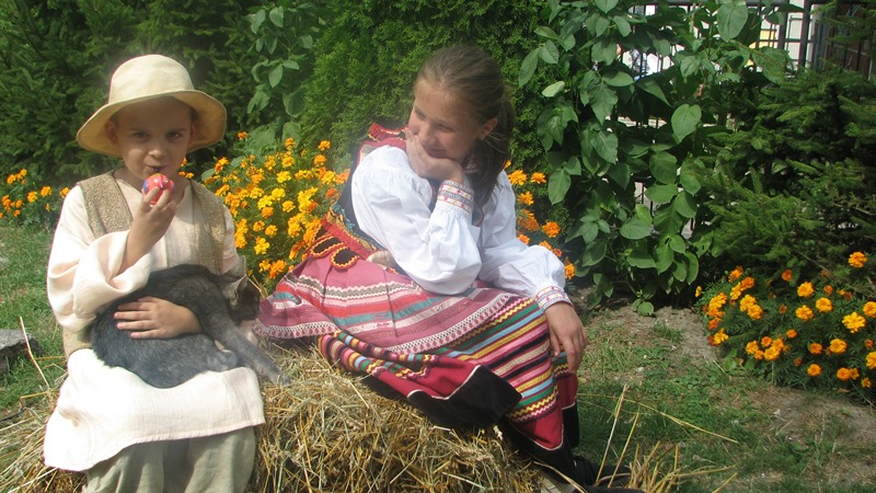 Napisz, jaka jest polska (lubelska) wieś