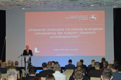 Sławomir Sosnowski - Marszałek Województwa Lubelskiego (fot. UMWL)