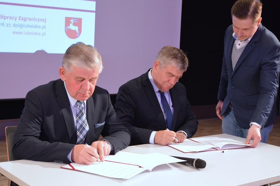 Porozumienia o współpracy lubelskiego z łódzkim