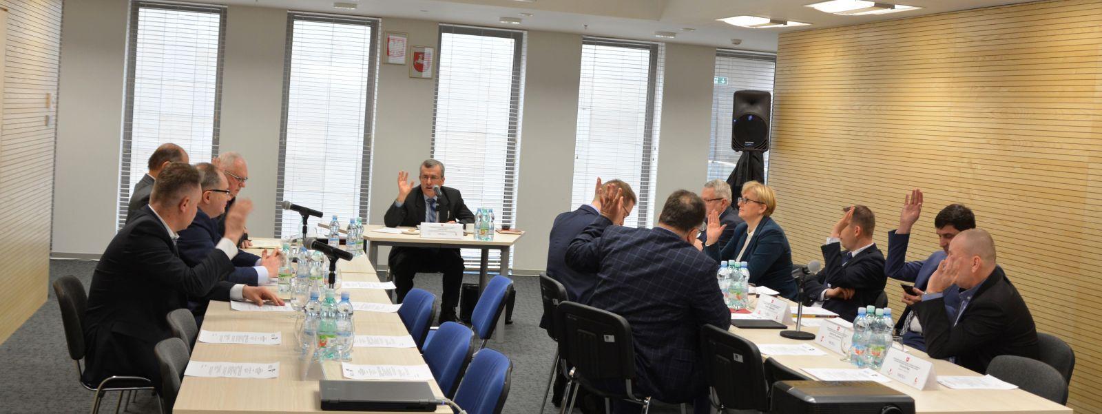 Posiedzenie SZR ds. Gospodarki, Innowacji i Rozwoju Przedsiębiorczości WRDS Województwa Lubelskiego