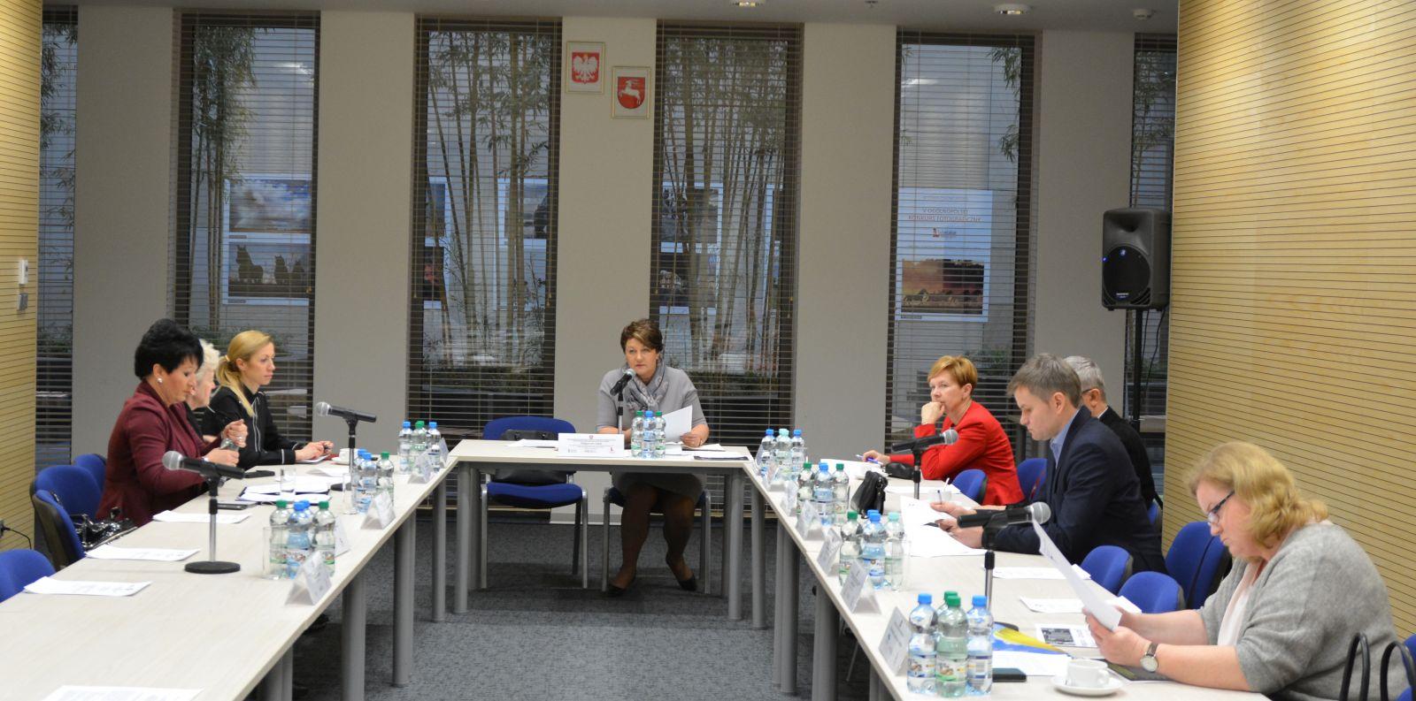 Posiedzenie SZR ds. Rynku Pracy, Zatrudnienia, Wynagrodzeń i Świadczeń Socjalnych WRDS Województwa Lubelskiego