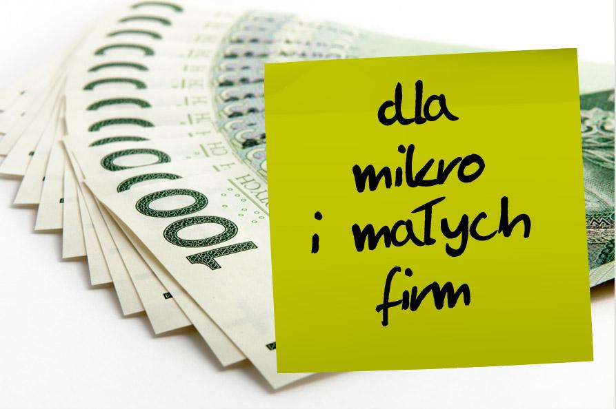 Dofinansowanie dla mikro i małych firm