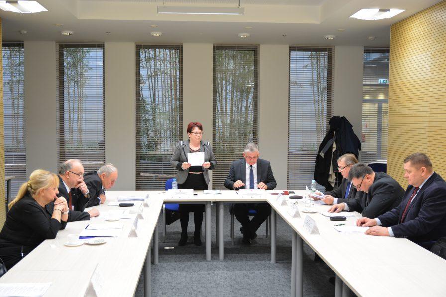 I posiedzenie Prezydium WRDS