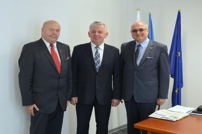Sławomira Sosnowskiego z Ambasadorem Bułgarii w RP
