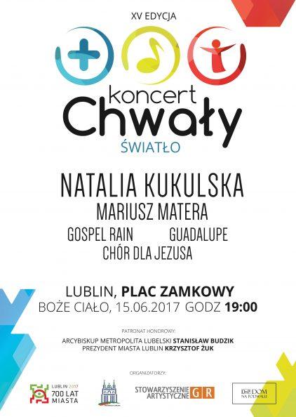 Plakat koncert chwały