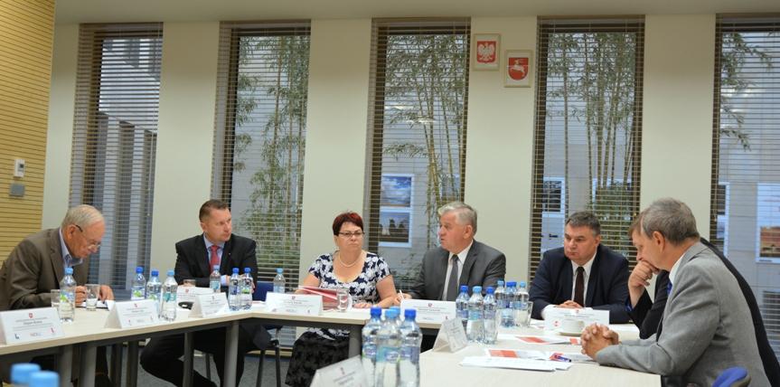 Posiedzenie Prezydium Wojewódzkiej Rady Dialogu Społecznego Województwa Lubelskiego