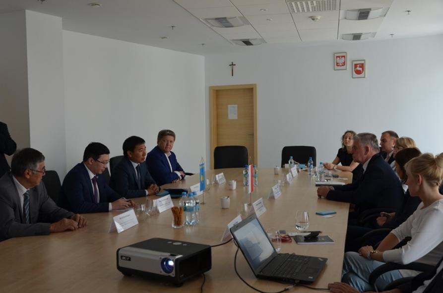 Wizyta ambasadora Kazachstanu