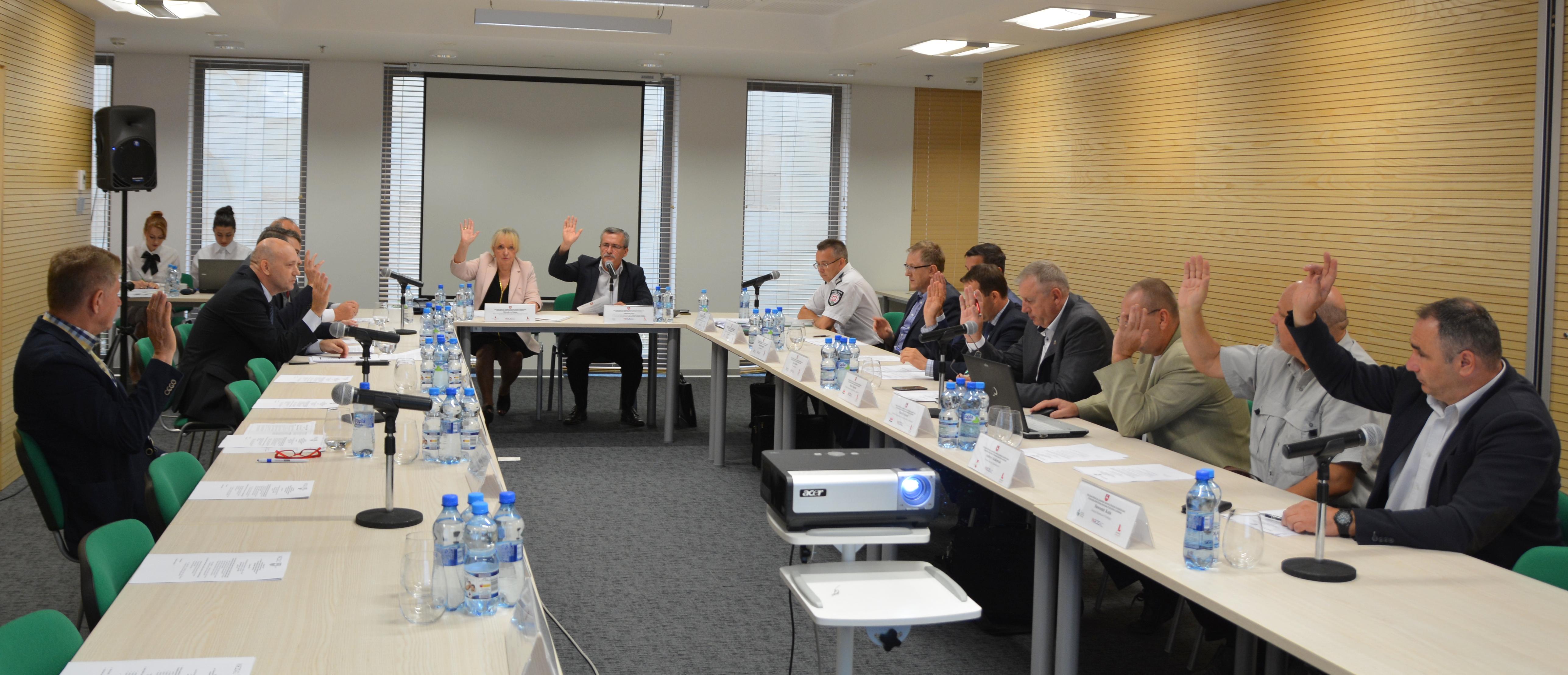 Posiedzenie Stałego Zespołu Roboczego ds. Gospodarki, Innowacji i Rozwoju Przedsiębiorczości Wojewódzkiej Rady Dialogu Społecznego Województwa Lubelskiego