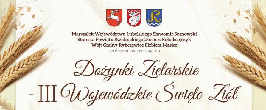 Zapraszamy na Wojewódzkie Święto Ziół