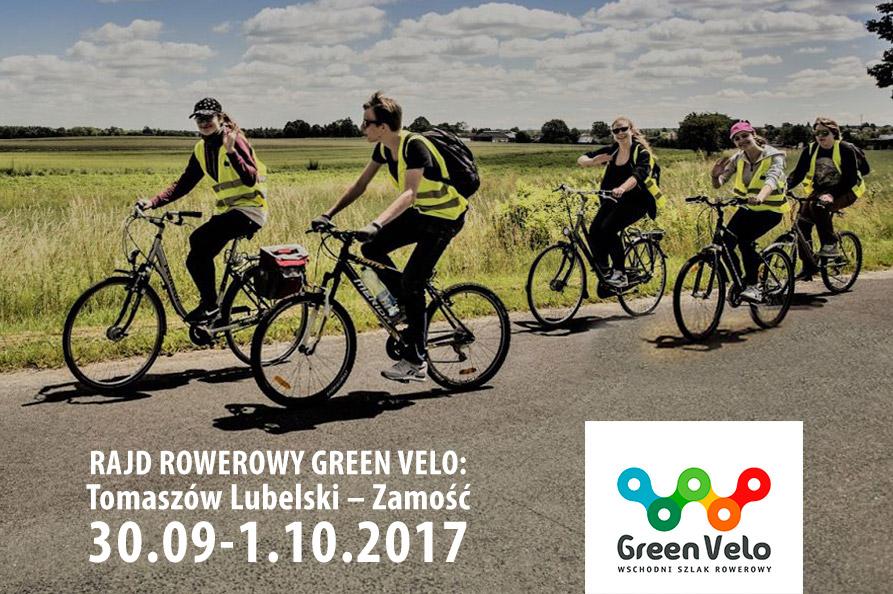 Rajd rowerowy Green Velo: Tomaszów Lubelski – Zamość