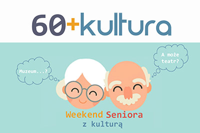 Weekend seniora z kulturą plakat