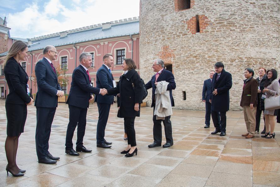 Lubelszczyznę odwiedzili ambasadorzy z ponad 30 krajów