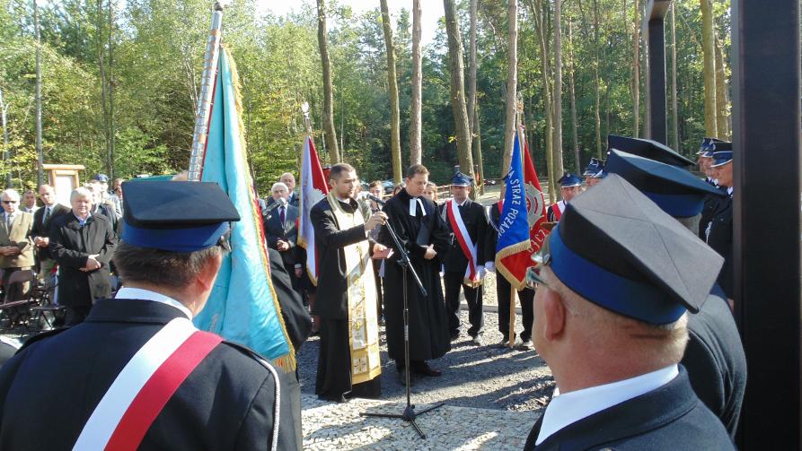 Poświęcenie odnowionych cmentarzy z okresu I Wojny Światowej