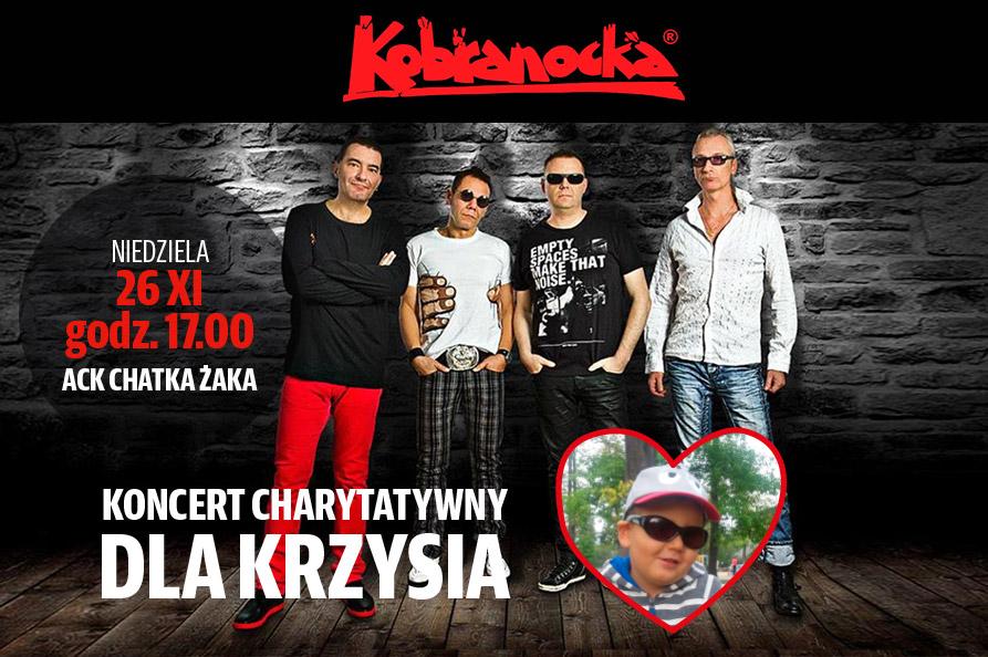 Koncert charytatywny dla Krzysia