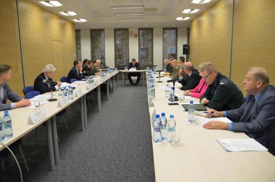 Posiedzenie SZR ds. Infrastruktury i Transportu WRDS Województwa Lubelskiego