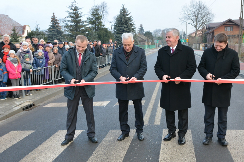 Otwarcie nowej drogi wojewódzkiej nr 814
