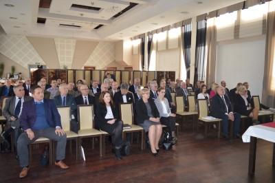 Uczestnicy konferencji w Zwierzyńcu