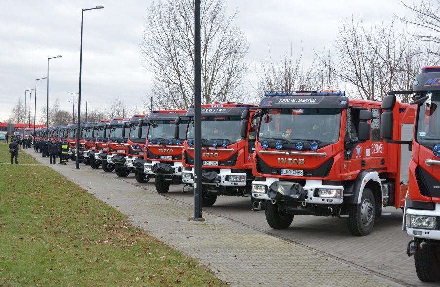 Samochody strażackie