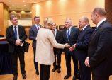 Spotkanie marszałka Sosnowskiego z Komisarz Cretu