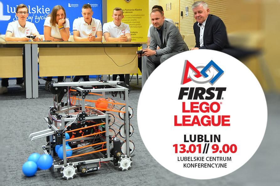 Roboty z Lego! – międzynarodowy turniej