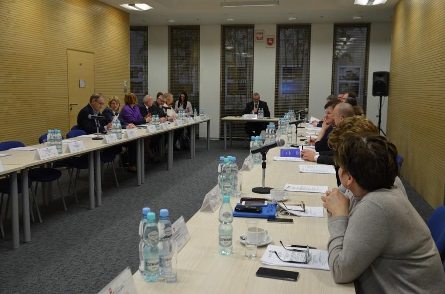 Posiedzenie Stałego Zespołu Roboczego ds. Polityki Społecznej i Ochrony Zdrowia WRDS