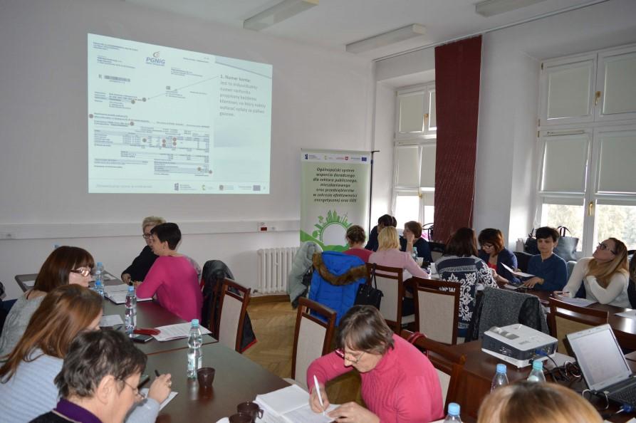 Kolejny etap szkoleń pracowników Ośrodków Pomocy Społecznej