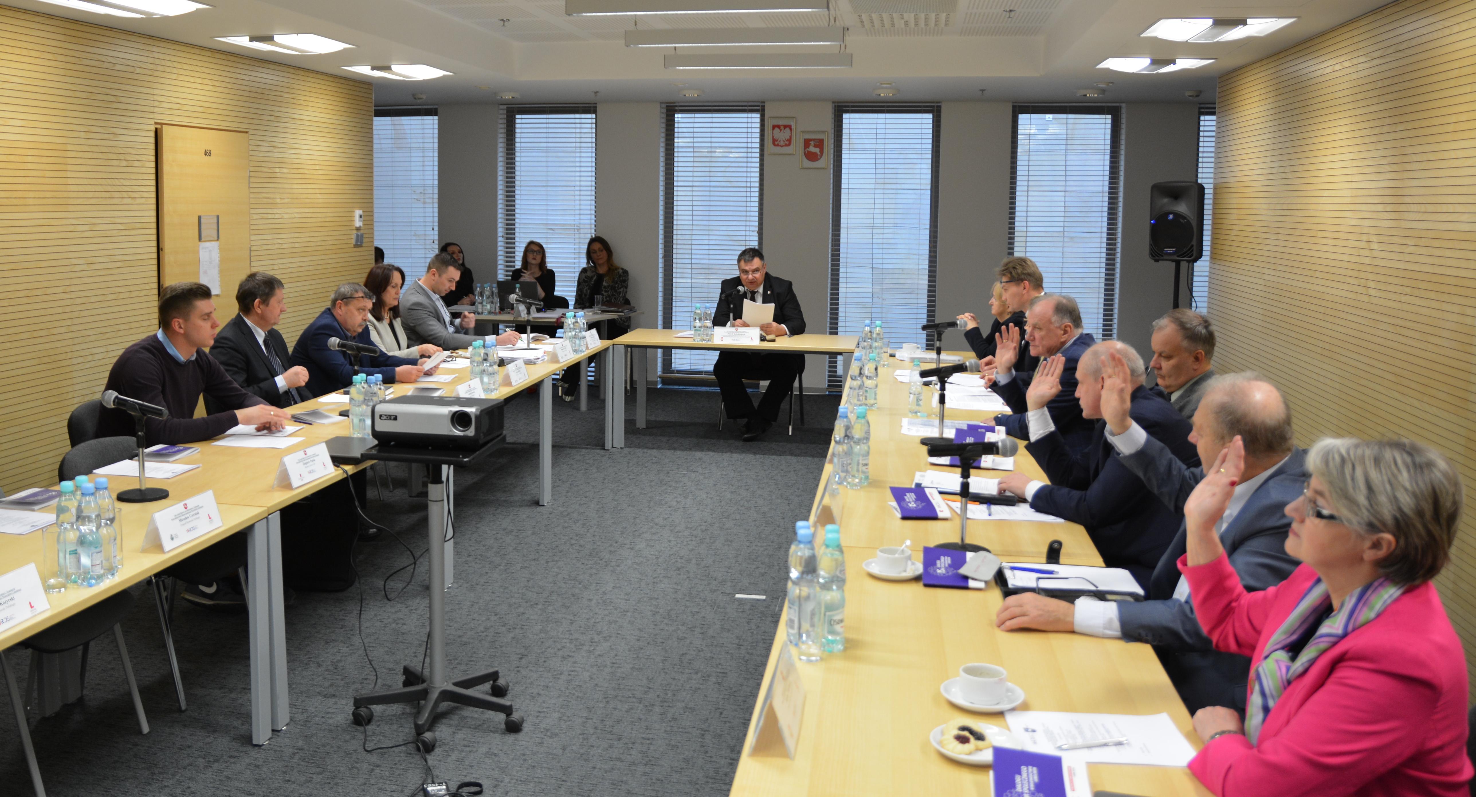 Posiedzenie Stałego Zespołu Roboczego ds. Infrastruktury i Transportu WRDS WL