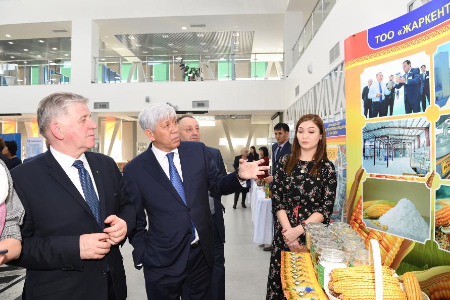 Wizyta w obwodzie Ałmatyńskim w Kazachstanie