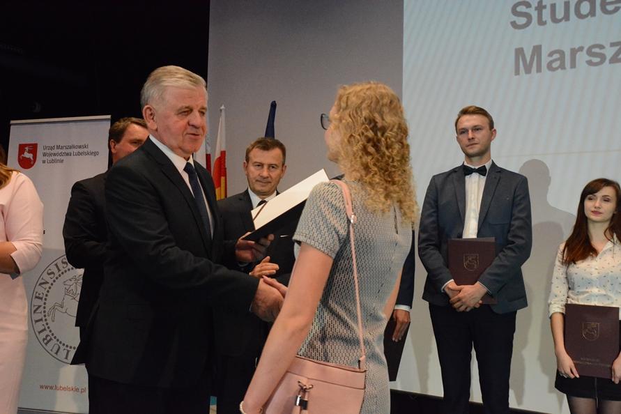 Najlepsi studenci z województwa lubelskiego