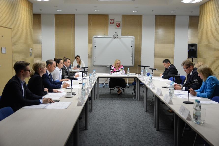 Posiedzenie Doraźnego Zespołu Roboczego ds. Regionalnej Koalicji w Walce z Szarą Strefą WRDS Województwa Lubelskiego