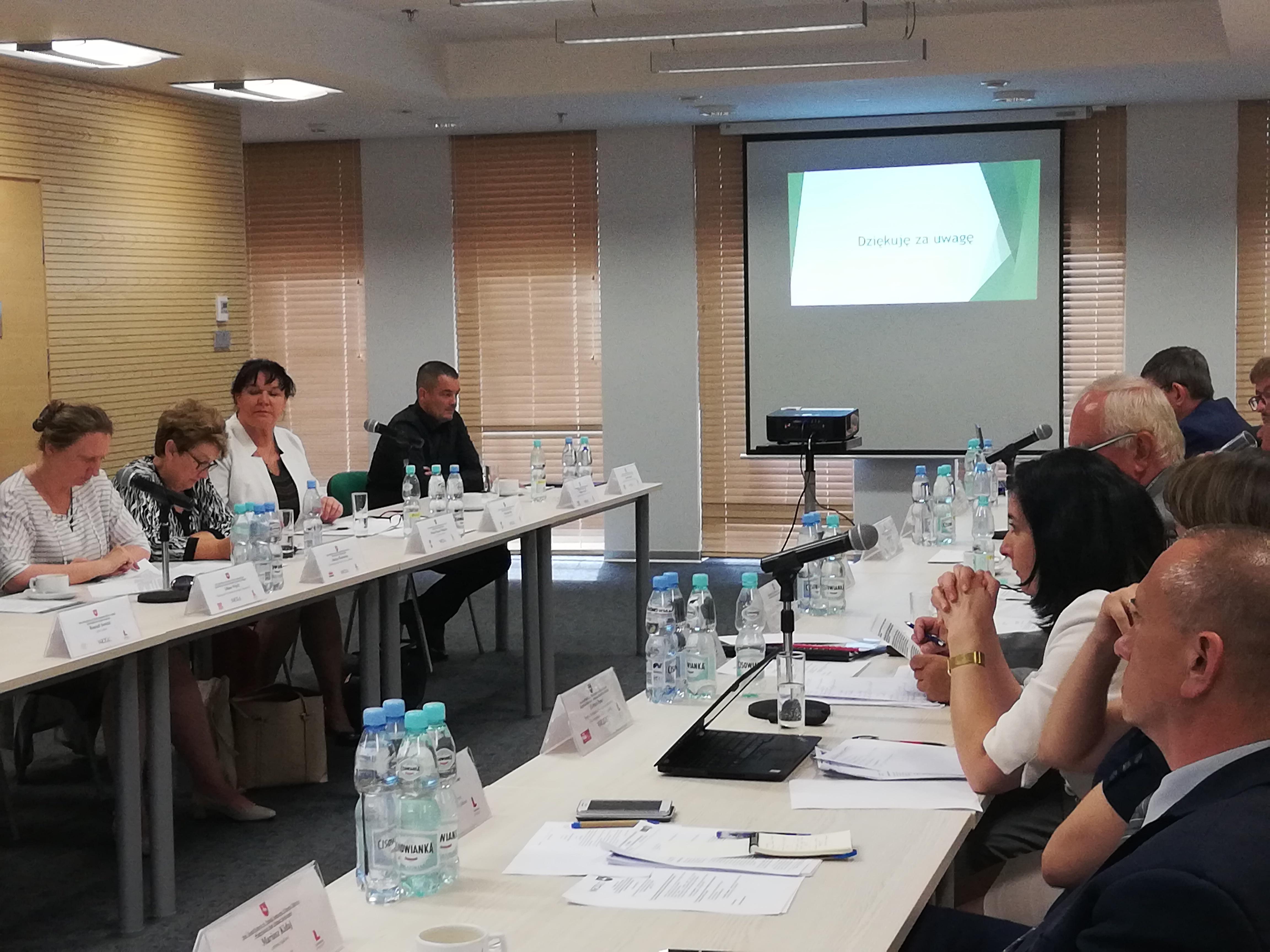 Posiedzenie Stałego Zespołu Roboczego ds. Polityki Społecznej i Ochrony Zdrowia WRDS w dniu 22 czerwca 2018 r.