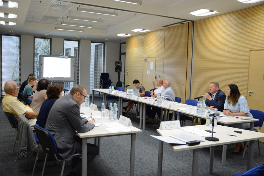 Posiedzenie SZR ds. Edukacji i Szkolnictwa Wyższego WRDS Województwa Lubelskiego