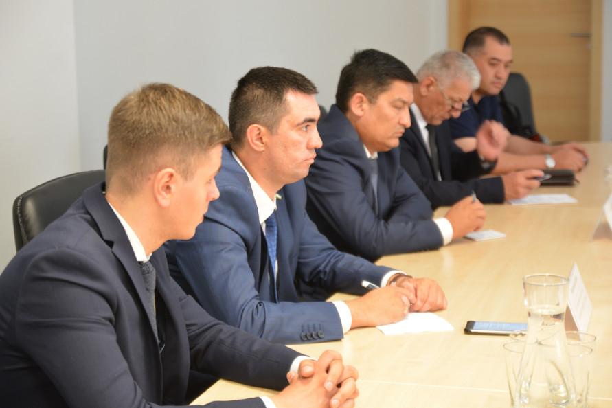 Wizyta delegacji z Obwodu Kaszkadaryjskiego