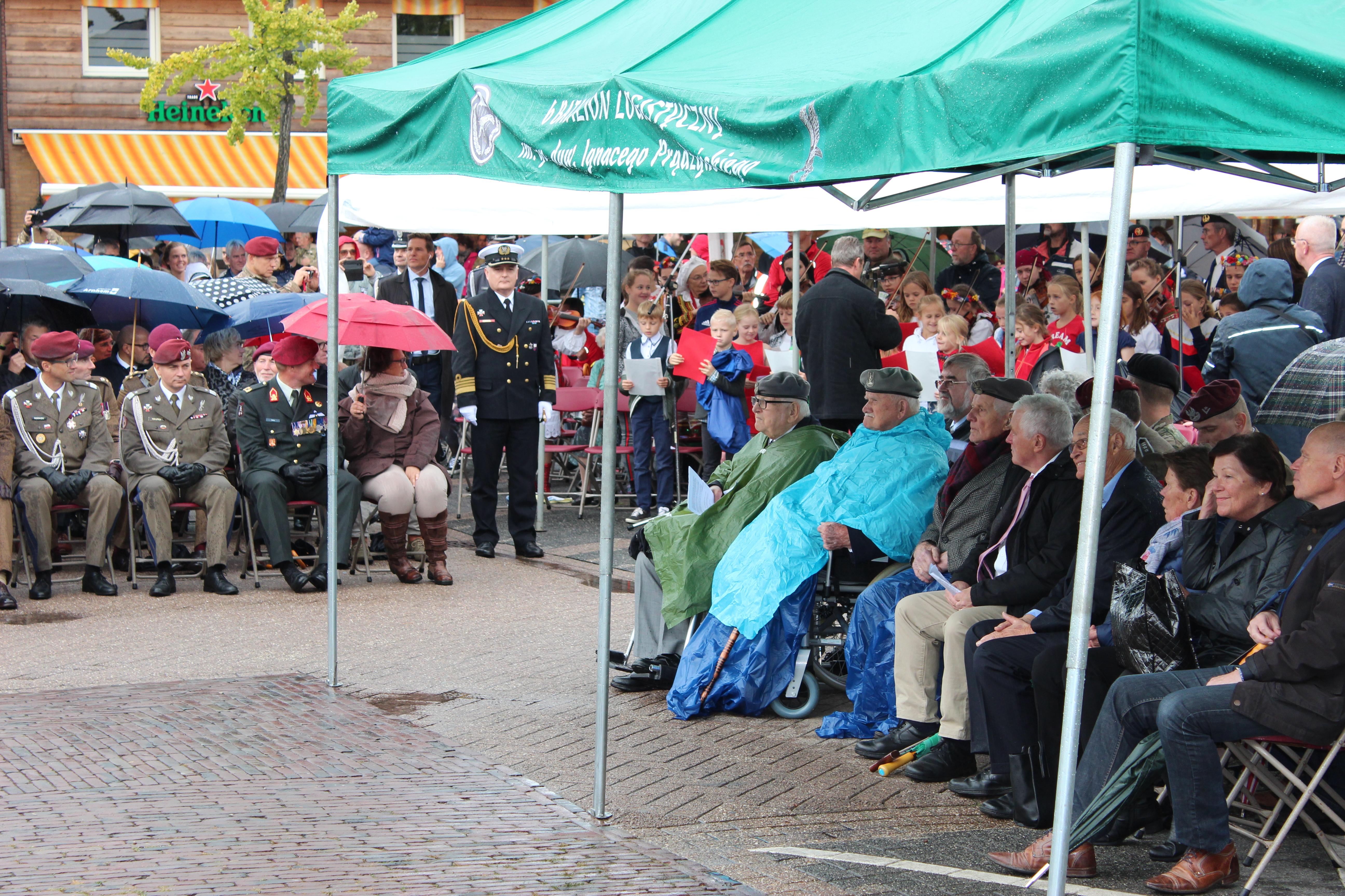 Obchody 74. rocznicy operacji Market Garden