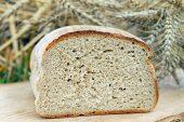 Na zdjęciu znajduje się chleb